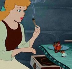 Find images and videos about disney, princess and weed on we heart it - the Cartoon Profile Pictures, Cartoon Pics, Disney Kunst, Disney Art, Humor Disney, Bad Princess, Marijuana Art, Stoner Art, Weed Art