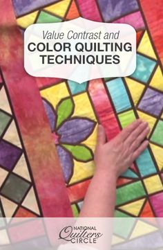 Value Contrast and Color Quilting Techniques  #LetsQuilt