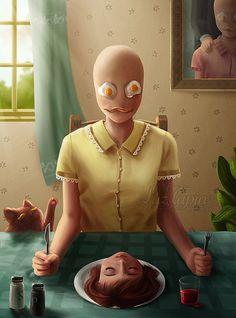 Amazing Digital Illustrations by Luz Tapia