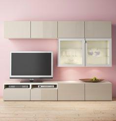 IKEA Catalogue 2016 - Pour le meuble télé, modulable, et qui peut être suspendu...