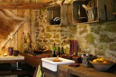 Mejores 90 Imagenes De Cocinas Rusticas En Pinterest Kitchen - Cocinas-rusticas-de-campo