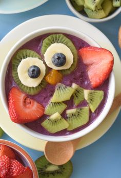 Smoothie Bowls Kids Will Love - Fork and Beans
