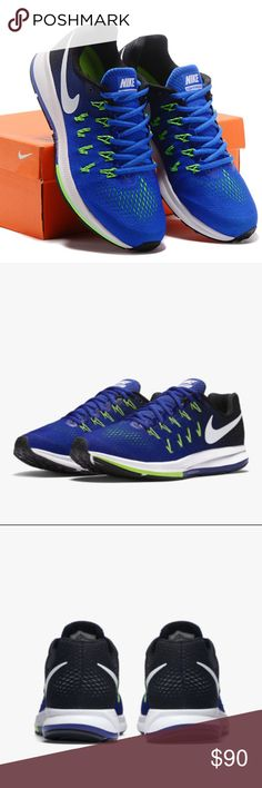 the best attitude acd2f 5d1d1 Nike AIR ZOOM PEGASUS 33 Men s Running Shoe Built for beginners and  experienced runners, the