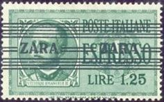 Lire 1.25 - philateca.com - the stamps database - stamps of Deutsche Besetzung Zara in philateca.com - the stamp database