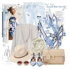 """""""Sem título #2187"""" by bellerodrigues ❤ liked on Polyvore featuring One Teaspoon, Hermès, Brunello Cucinelli, Aéropostale, River Island, Yves Saint Laurent and Valentino"""