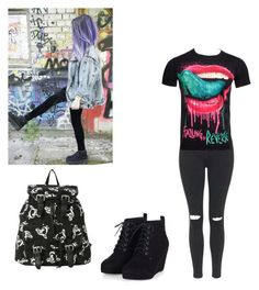 """Untitled #116"" by teganself on Polyvore featuring Topshop, women's clothing, women, female, woman, misses and juniors"