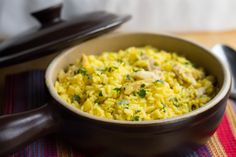 Saffron Chicken & Rice - A flavorful one pot meal that's quick and ...