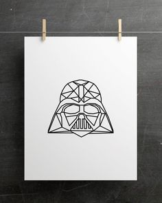 Star Wars Quotes, Star Wars Humor, Darth Vader, Star Wars Drawings, Art Drawings, Star Wars Painting, Star Wars Crafts, Star Wars Fan Art, Star Trek