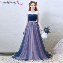 Sweetheart Perlen Bodenlangen Tüll Abendkleid Abendkleid Sweep Zug Kristalle Schärpen SSX143 //Price: $US $119.00 & FREE Shipping //     #dazzupde