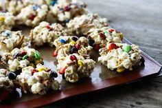 Sweet and Salty No-Bake Popcorn Cookies