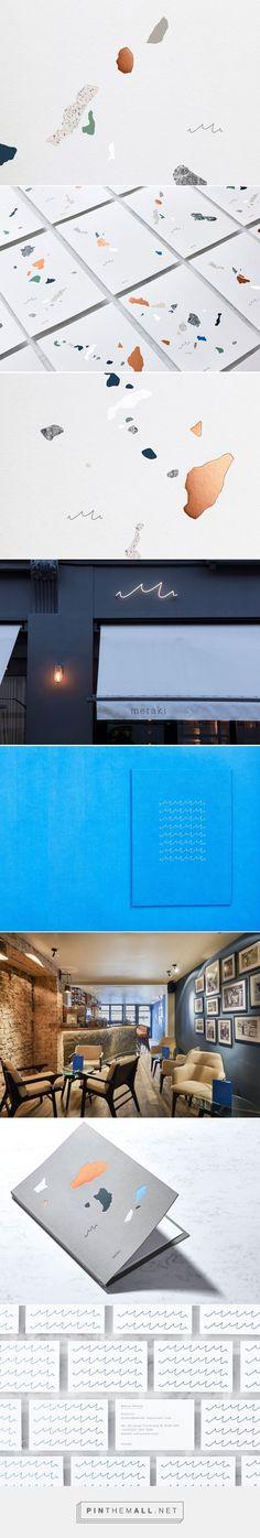Meraki Restaurant identity, by Dutchscot, London | Identity Designed
