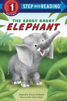 Sooki the elephant, who has never seen another animal like himself, tries to shrink his saggy wrinkly skin. Cover image for The saggy baggy elephant / by Tennant Redbank ; illustrated by Garva Hathi.
