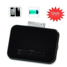Find and buy 750mah portable charger for Apple iPhone at Rollmid.com---$29.19.