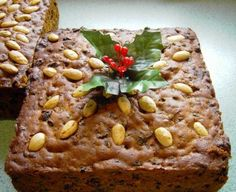 I have been making this particular fruit cake recipe for about 28 years now. It's a traditional cake for weddings, birthdays and Christmas in Australia. Although I submitted the. Christmas Pudding, Christmas Treats, Christmas Fruitcake, Christmas Cakes, Christmas Goodies, Christmas Desserts, Christmas Diy, Xmas, Food Cakes