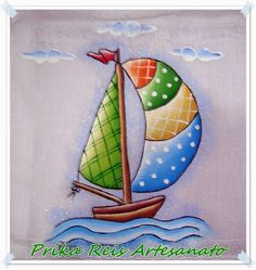 Prika Reis: Arthur Paper Piecing Patterns, Applique Patterns, Applique Designs, Embroidery Designs, Baby Painting, Fabric Painting, Vacation Scrapbook, Diy Crafts To Do, Baby Embroidery