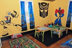 transformers bedroom wall decals