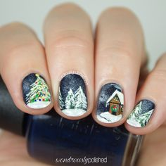Guest Post for Mely of Rock Your Nails - 12 Days of Christmas: Christmas Song