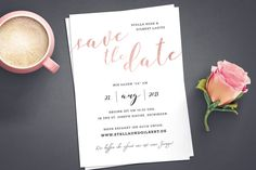 Save the Date Card Vintage Wedding Invitations, Personalized Invitations, Save The Date Cards, Wedding Cards, Dating, Place Card Holders, Etsy, Handmade Gifts, Prints