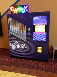 I WANT A Wonka candy machine