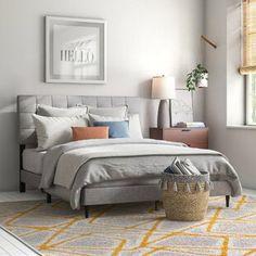 Winston Porter Sagamore Platform Bed | Wayfair Solid Wood Platform Bed, Bed Platform, Upholstered Platform Bed, Panel Headboard, Panel Bed, California King, Bed Reviews, Adjustable Beds, Chaise Sofa