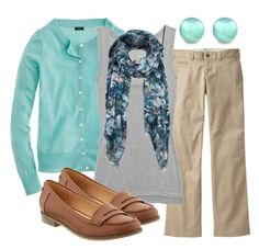 Teacher, Teacher 32 by qtpiekelso on Polyvore featuring J.Crew, Inhabit, Old Navy and AllSaints