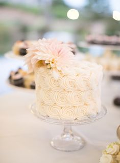 Featured Photographer: Josh Gruetzmacher Photography; wedding cake idea, click to see more wedding details