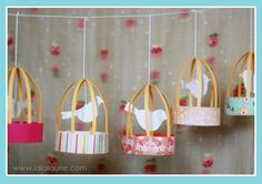DIY Birdcage Party Laterns