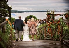 Love on the Lake: Amanda & Todd In Lake Geneva, WI | Wedding Planning, Ideas & Etiquette | Bridal Guide Magazine