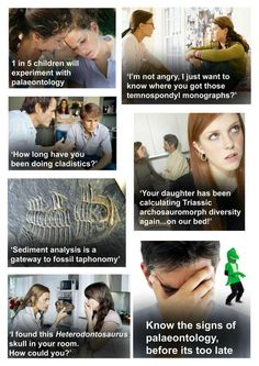 Palaeontology.  Know the signs.  .  .  .  .  .  .  .  .  .  .  .  https://www.facebook.com/photo.php?fbid=456699247684425=a.456449604376056.98921.367116489976035=1=nf