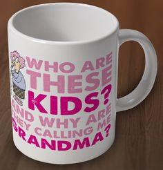 Aunty Acid Grandma Mothers Day Mug from Charlie Bit Me. Buy Aunty Acid Grandma Mothers Day Mug Online now for �7.00 : CharlieBitMe.co.uk