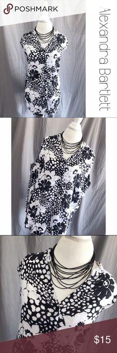 """Alexandra Bartlett 100% Linen Sleeveless Shirt 2X 100% Linen Top.  Sleeveless, Button Down. 2X. Measurements lying flat: Chest 25"""", length 28"""" B10 Alexandra Bartlett Tops"""
