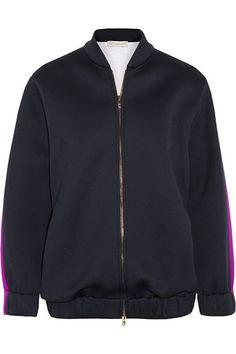 Tomboy Chic: Shop Luxe Sporting Goods: Stella McCartney bomber jacket, $1,040, net-a-porter.com.
