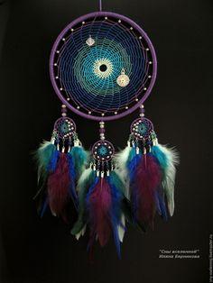 """Купить Ловец снов """"Водоворот времени"""" - комбинированный, время, водоворот, космос, вселенная, ловец снов"""