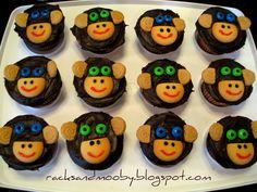 Monkey see, monkey do cupcake ideas :)