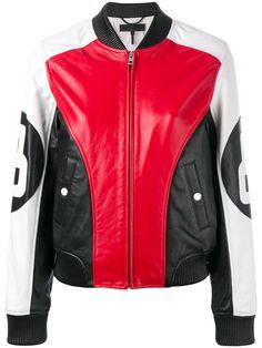 RAG & BONE Panelled Biker Jacket. #ragbone #cloth #jacket