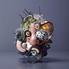 MOODS-Figurative Portraits II on Behance