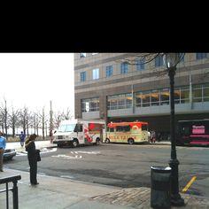 World Financial Center Food Truck Court