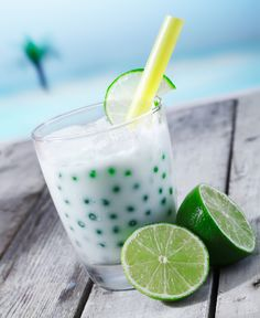Bubble Tea - We had this in Taiwan! Very unique drink.