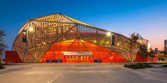 BBPV Compass Stadium's Expanded Aluminum Mesh
