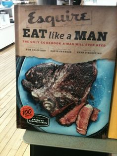 Eat Like A Man #Tip #TipOrSkip #TopTips #cooking #books