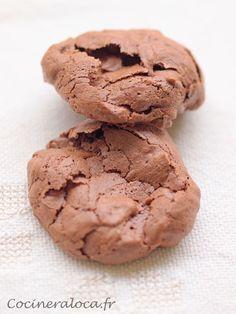 Biscuits soufflés au chocolat : la recette parfaite pour utiliser deux blancs d'œufs
