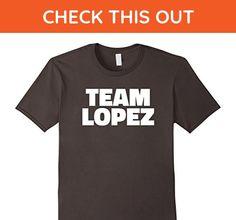 Mens Team Lopez T Shirt - Last Name Family T-Shirt XL Asphalt - Relatives and family shirts (*Amazon Partner-Link)
