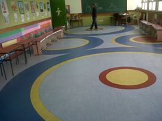 Modi School, Meerut (picture 3 of 3). Customised vinyl floorings
