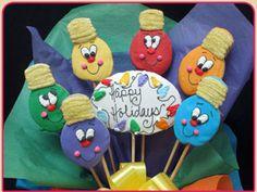 Christmas Pop Treats | #christmas #xmas #holiday #food #desserts