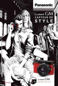 Proximity BBDO pour Panasonic - appareil photo Lumix GM5, «Capteur de style» - novembre 2014 - Support print - Toutes les images