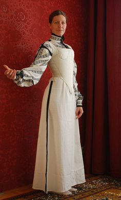Tailor's - Catany, Corset of Dorothea Sabina von Neuburg, part 1 Renaissance Wedding, Renaissance Clothing, Renaissance Fashion, Historical Costume, Historical Clothing, Elizabethan Clothing, Elizabethan Era, 16th Century Fashion, Medieval Costume