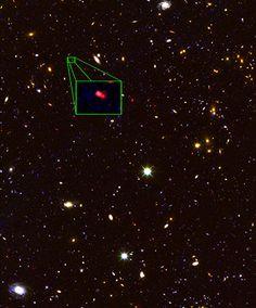 La galassia più distante dell'universo