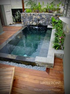 16 Best Creative Small Swimming Pool Design For Backyard Inspiration 7 If you are too often at home sometimes very boring, you want to get out but the feeling of laziness Small Swimming Pools, Small Pools, Swimming Pools Backyard, Pool Spa, Swimming Pool Designs, Lap Pools, Pool Decks, Indoor Pools, Pool Cabana