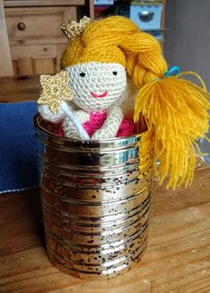 Beautiful crochet Amigurumi Fairy Doll by PerinBaba on Etsy