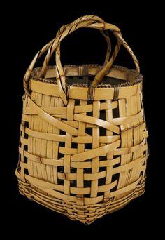 Flower Basket, SOUNSAI Saku; circa 1920 - 1930 www.kagedo.com